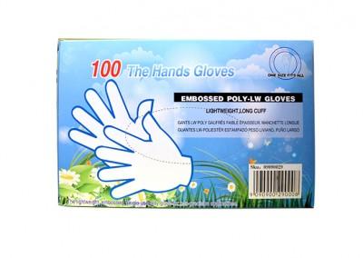 100 Guantes Plásticos