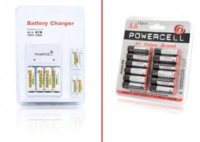 Cargador y baterias