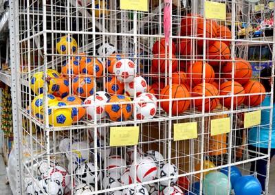 Variedad de bolas