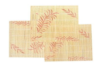 Individuales de Bambú