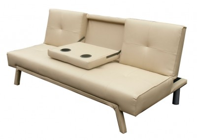 Sofa Cama con portavasos